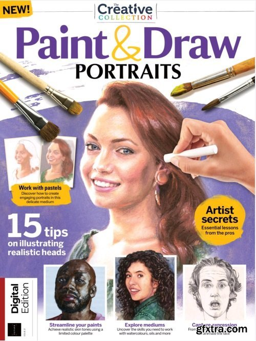 Paint & Draw Portraits - Issue 21, 2021