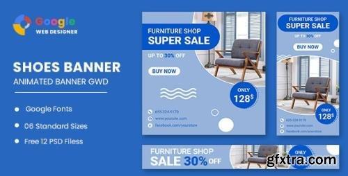 CodeCanyon - Furniture Sale HTML5 Banner Ads GWD v1.0 - 33791842