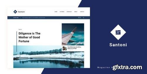 ThemeForest - Santoni v1.0 - Blog and Magazine Ghost Theme - 33746784