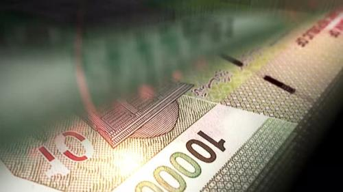 Videohive - Iran Rial money counting seamless loop - 33823685 - 33823685