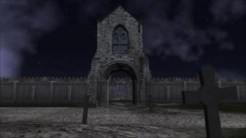 Videohive - Halloween Graveyard - 33828517 - 33828517