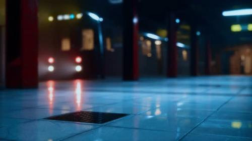 Videohive - Empty Metro Station During the Coronavirus Covid19 Pandemic - 33829785 - 33829785