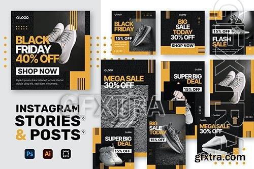 Sale Instagram Stories + Posts TQQMEFY