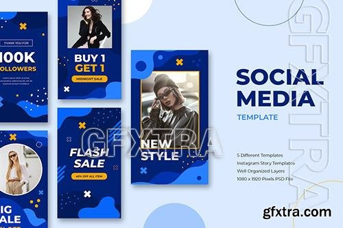 Flash Sale Instagram Story Template 9C5BSUU