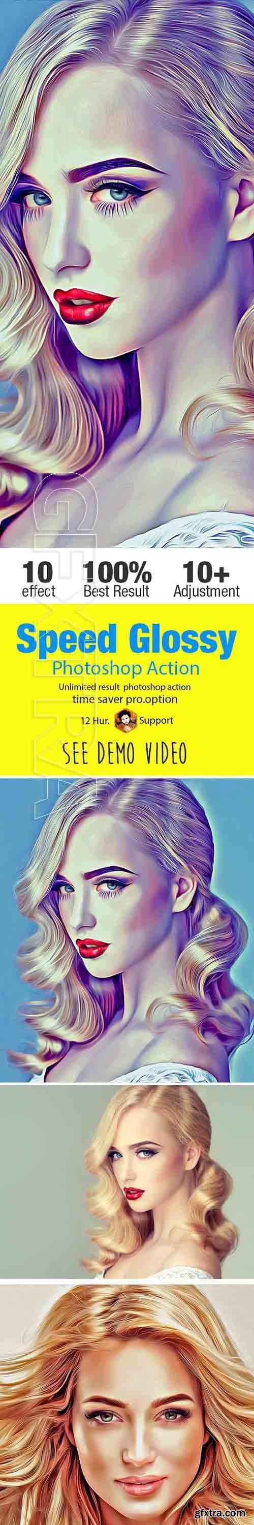 GraphicRiver - Speed Glossy Art Action 21140064