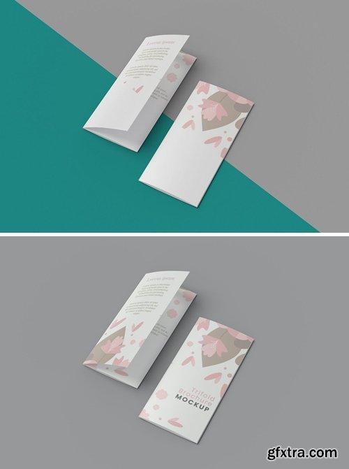 A4 Trifold Brochure Mockup V.2