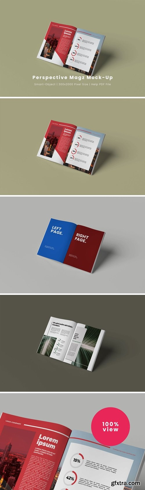 Perspective Magz Mock-Up