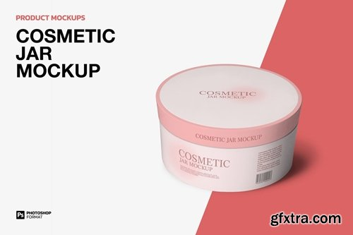 Cosmetic Jar - Mockup