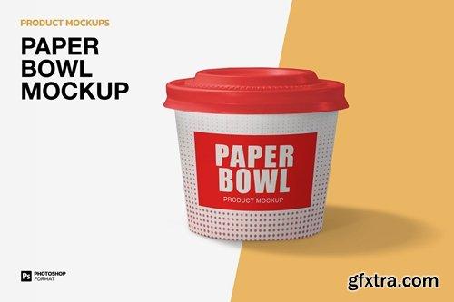 Paper Bowl - Mockup