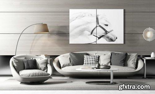 Modern Fabric Sofa, coffee table, floor lamp combination