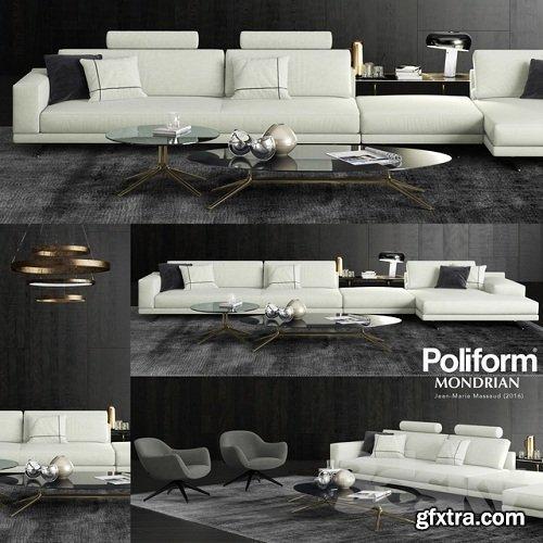 Poliform Mondrian Sofa 2