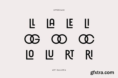Art Galleria - Modern Display Sans Serif