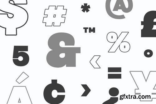 HEADLINE - Ultra Bold Sans Serif