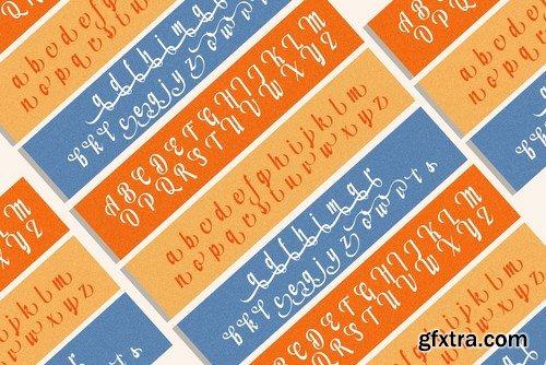 Modern Script Font