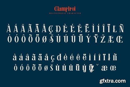 Clamfiroi Font