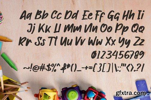 Morekids Font