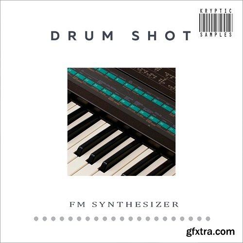 Kryptic Samples Drum Shot FM Synthesizer WAV