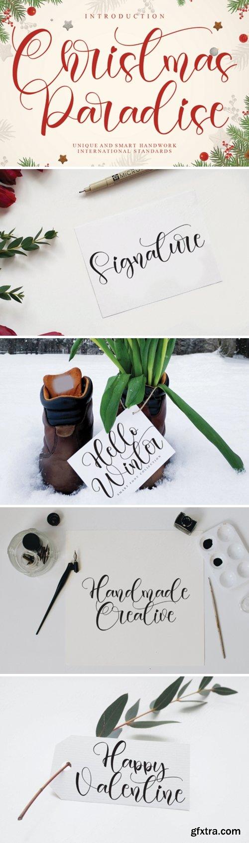 Christmas Paradise Font