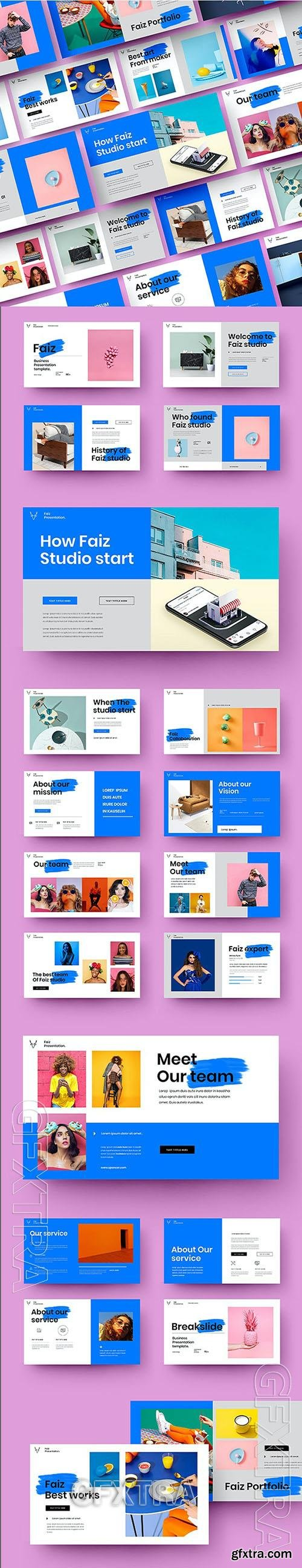 Faiz - Business Powerpoint, Keynote and Google Slides Template