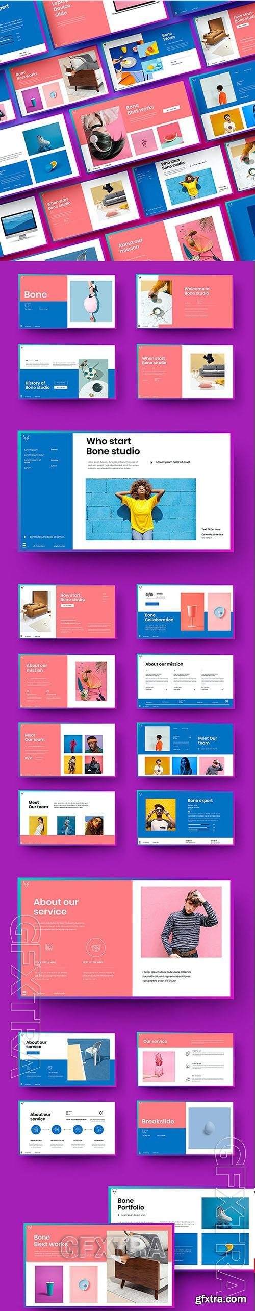 Bone - Business Powerpoint, Keynote and Google Slides Template