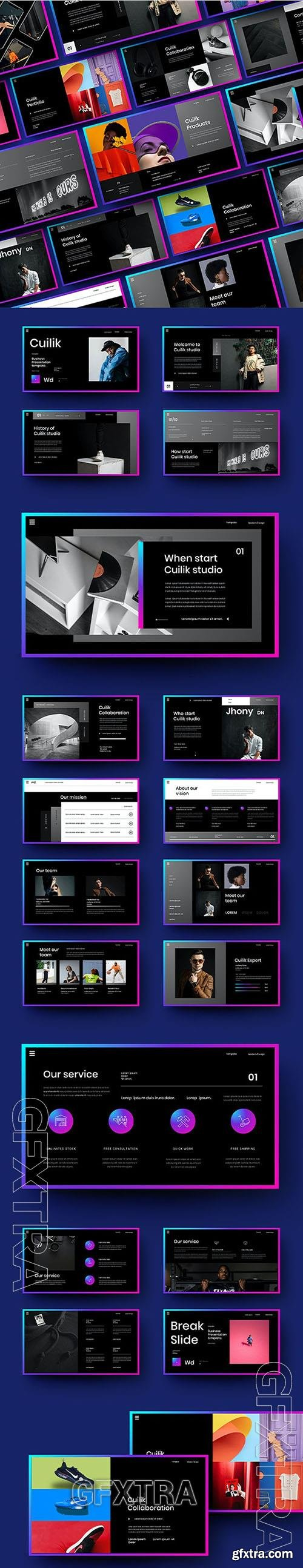 Cuilik - Business Powerpoint, Keynote and Google Slides Template