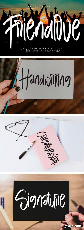 Friendlove Script Font