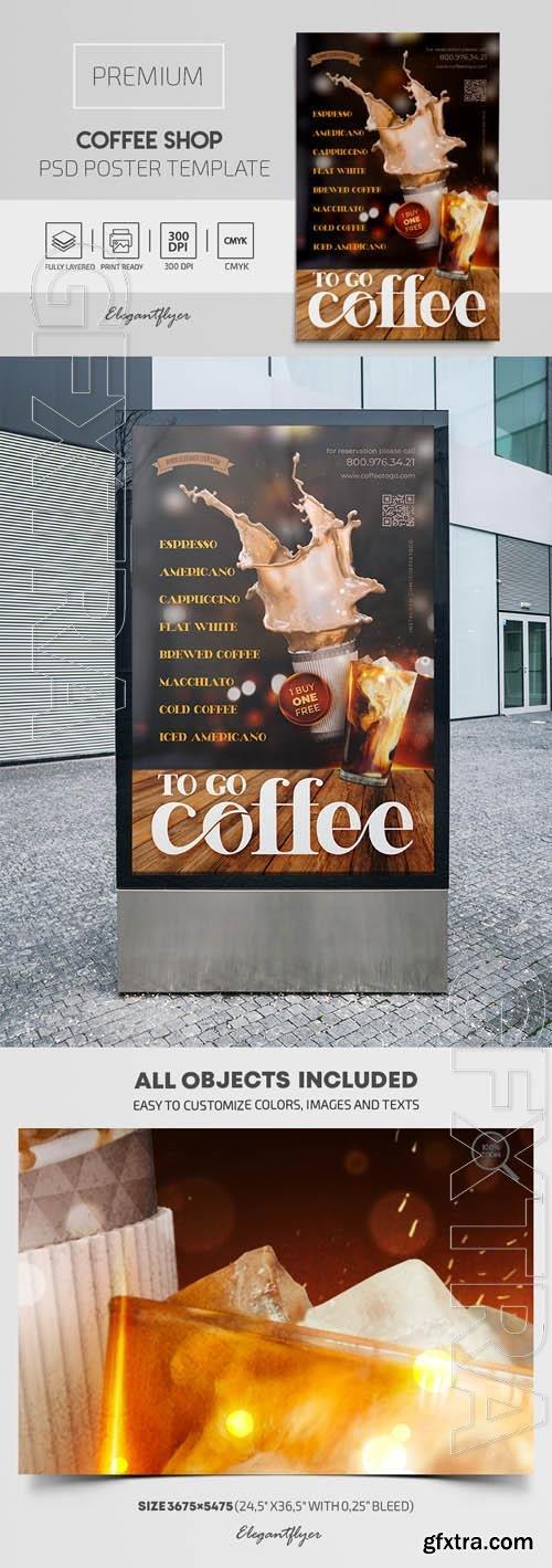 Coffee Shop Premium PSD Poster Template
