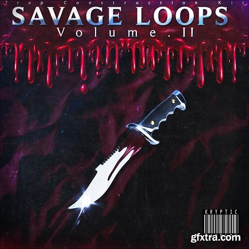 Kryptic Samples Savage Loops Volume 2 WAV MiDi