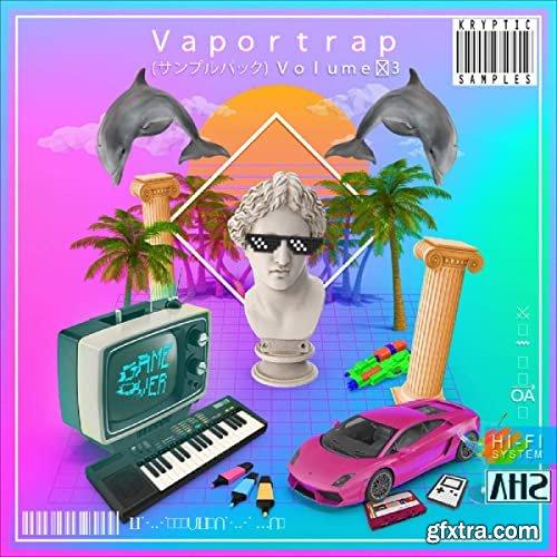 Kryptic Samples Vaportrap Volume 3 WAV MiDi