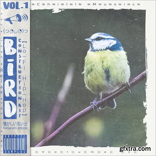 Kryptic Samples Bird Volume 1 WAV MiDi