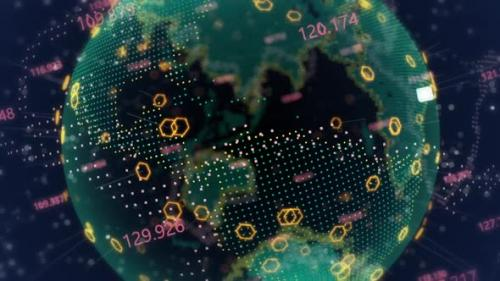 Videohive - Global Earth Networks - 33843963 - 33843963
