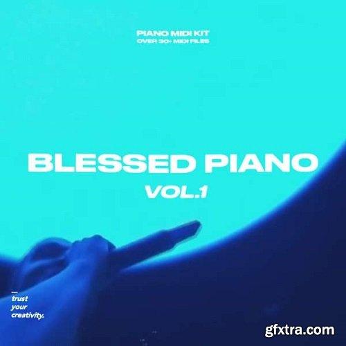 nolyrics Blessed Piano Volume 1 MIDI Kit WAV MiDi