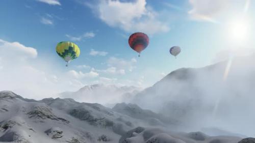 Videohive - Hot Air Baloon - 33844264 - 33844264