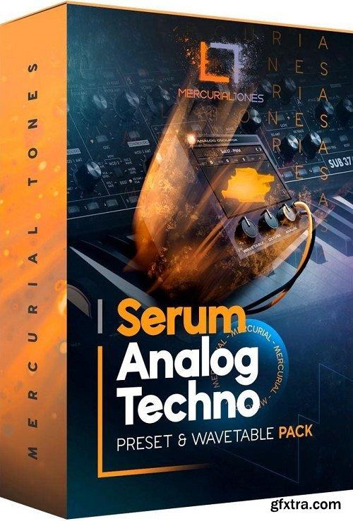 Mercurial Tones Xfer Serum Analog Techno Presets MULTiFORMAT