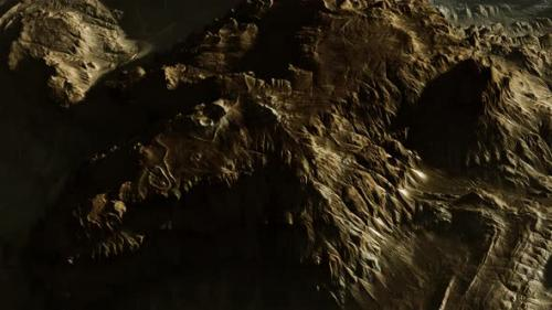 Videohive - View of the Alien Planet Landscape - 33848393 - 33848393