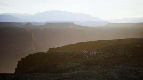 Videohive - Desert Landscape on the Volcanic Island of Canary Islands - 33848436 - 33848436