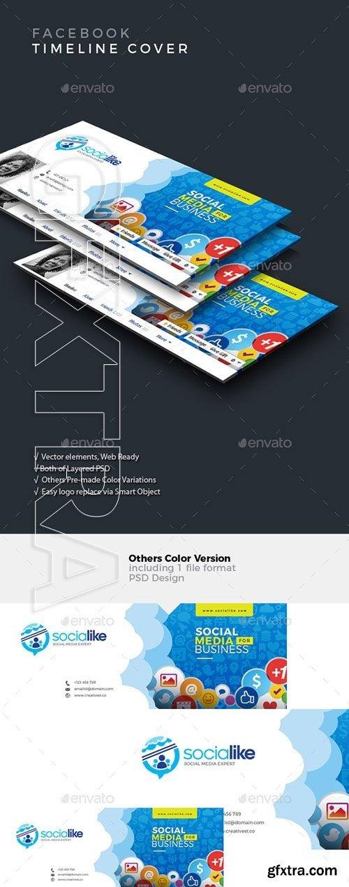 GraphicRiver - Facebook Timeline Cover 20997054
