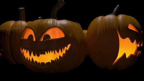 Videohive - Halloween Pumpkin - 33851608 - 33851608