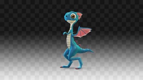 Videohive - Dragon Walking - 33857942 - 33857942