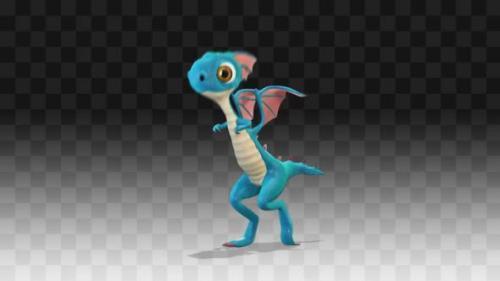 Videohive - Dragon Dancing Running Man - 33858209 - 33858209