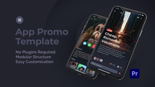Videohive - Mobile App Promo for Premiere Pro - 33814743 - 33814743