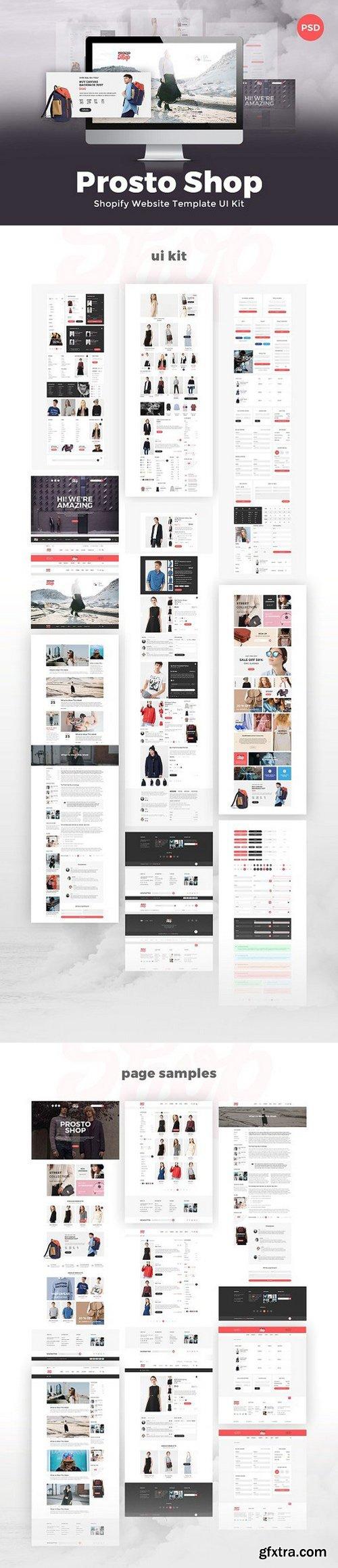 ProstoShop - Shopify Template UI Kit