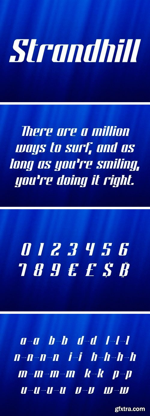 Strandhill Display Font