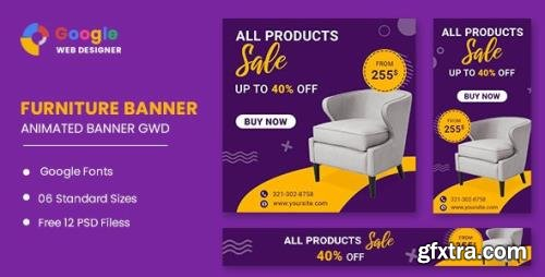 CodeCanyon - Furniture Google Adwords HTML5 Banner Ads GWD v1.0 - 33843662