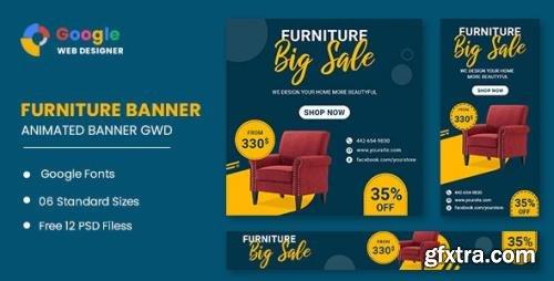 CodeCanyon - Furniture Google Adwords HTML5 Banner Ads GWD v1.0 - 33843665