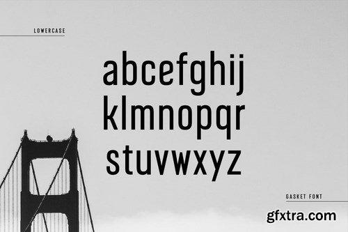 Gasket - Modern Corporate Condensed Sans Serif