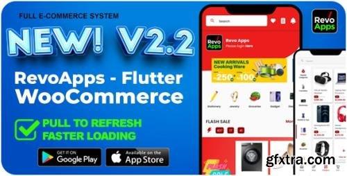 CodeCanyon - Revo Apps Woocommerce v2.2.0 - Flutter E-Commerce Full App Android iOS - 33358655
