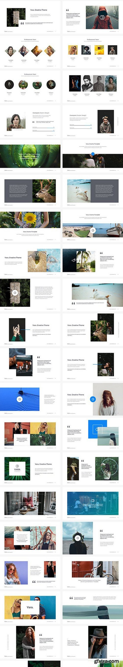 Vara - Creative PowerPoint Template