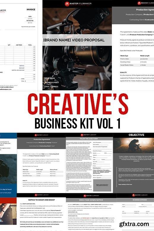 Master Filmmaker - Creative\'s Business Kit Vol. 1