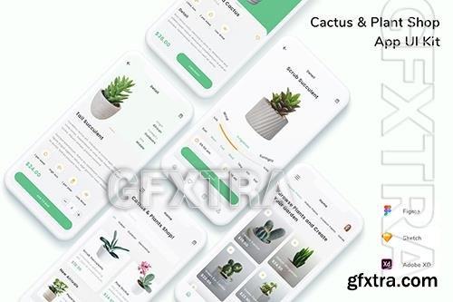 Cactus & Plant Shop App UI Kit 66FXV8C